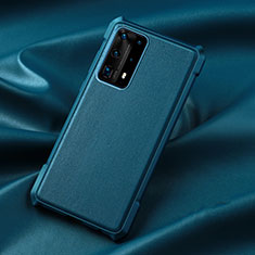 Ultra-thin Silicone Gel Soft Case 360 Degrees Cover S06 for Huawei P40 Pro+ Plus Blue