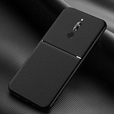 Ultra-thin Silicone Gel Soft Case 360 Degrees Cover S06 for Xiaomi Redmi 8 Black