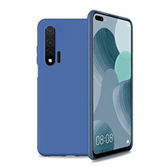 Ultra-thin Silicone Gel Soft Case 360 Degrees Cover T01 for Huawei Nova 6 5G Blue