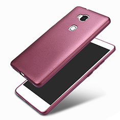 Ultra-thin Silicone Gel Soft Case 360 Degrees for Huawei GR5 Purple