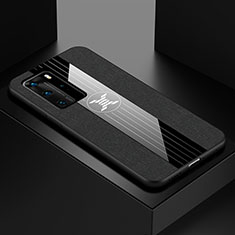 Ultra-thin Silicone Gel Soft Case Cover C01 for Huawei P40 Pro Black
