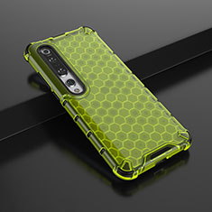 Ultra-thin Silicone Gel Soft Case Cover C01 for Xiaomi Mi 10 Pro Green