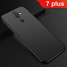 Ultra-thin Silicone Gel Soft Case Cover S01 for Nokia 7 Plus Black