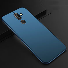 Ultra-thin Silicone Gel Soft Case Cover S01 for Nokia 7 Plus Blue