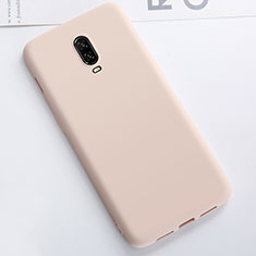 Ultra-thin Silicone Gel Soft Case Cover S01 for OnePlus 6T Gold