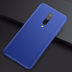 Ultra-thin Silicone Gel Soft Case Cover S01 for OnePlus 7 Pro Blue
