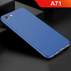 Ultra-thin Silicone Gel Soft Case Cover S01 for Oppo A71 Blue