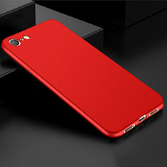Ultra-thin Silicone Gel Soft Case Cover S01 for Oppo A71 Red