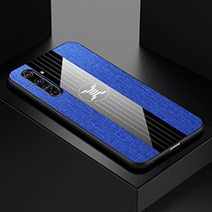 Ultra-thin Silicone Gel Soft Case Cover S01 for Realme X50 Pro 5G Blue