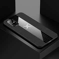 Ultra-thin Silicone Gel Soft Case Cover S01 for Samsung Galaxy A71 5G Black