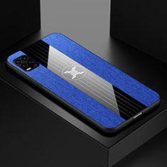 Ultra-thin Silicone Gel Soft Case Cover S01 for Xiaomi Mi 10 Lite Blue