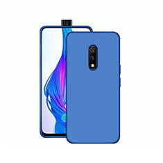 Ultra-thin Silicone Gel Soft Case Cover S02 for Realme X Blue