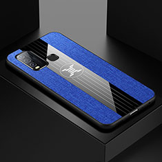 Ultra-thin Silicone Gel Soft Case Cover S03 for Vivo Y50 Blue