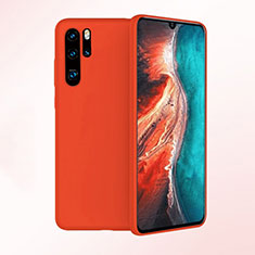 Ultra-thin Silicone Gel Soft Case Cover S04 for Huawei P30 Pro Red