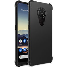 Ultra-thin Silicone Gel Soft Case for Nokia 7.2 Black