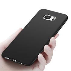 Ultra-thin Silicone Gel Soft Case R06 for Samsung Galaxy S7 Edge G935F Black
