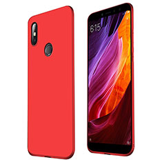 Ultra-thin Silicone Gel Soft Case S01 for Xiaomi Mi Max 3 Red