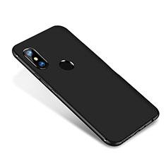 Ultra-thin Silicone Gel Soft Case S02 for Xiaomi Redmi Note 5 AI Dual Camera Black