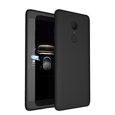 Ultra-thin Silicone Gel Soft Case S03 for Xiaomi Redmi Note 4X High Edition Black