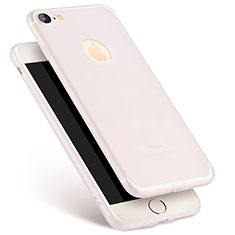 Ultra-thin Silicone Gel Soft Case S07 for Apple iPhone SE (2020) White