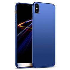 Ultra-thin Silicone Gel Soft Cover S02 for Apple iPhone Xs Max Blue