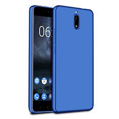 Ultra-thin Silicone TPU Soft Case for Nokia 6 Blue