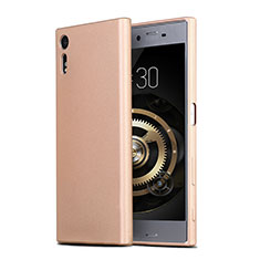 Ultra-thin Silicone TPU Soft Case for Sony Xperia XZs Gold
