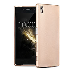 Ultra-thin Silicone TPU Soft Case for Sony Xperia Z5 Gold