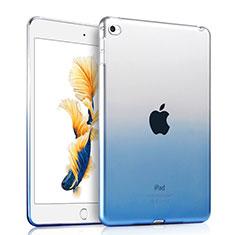 Ultra-thin Transparent Gel Gradient Soft Case for Apple iPad Air 2 Blue