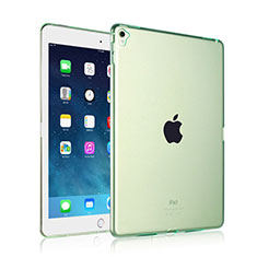 Ultra-thin Transparent Gel Soft Case for Apple iPad Pro 9.7 Green