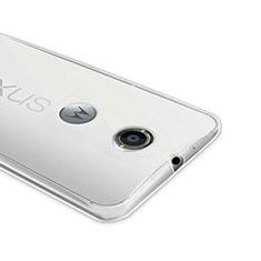 Ultra-thin Transparent Gel Soft Case for Google Nexus 6 Clear