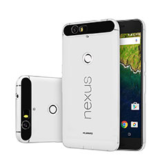 Ultra-thin Transparent Gel Soft Case for Google Nexus 6P Clear