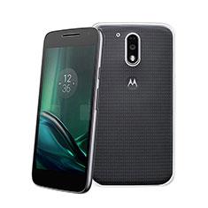 Ultra-thin Transparent Gel Soft Case for Motorola Moto G4 Plus Clear