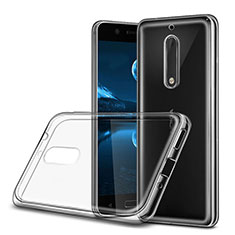 Ultra-thin Transparent Gel Soft Case for Nokia 5 Clear