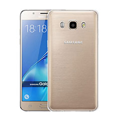 Ultra-thin Transparent Gel Soft Case for Samsung Galaxy J5 Duos (2016) Clear