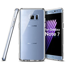 Ultra-thin Transparent Gel Soft Case for Samsung Galaxy Note 7 Clear