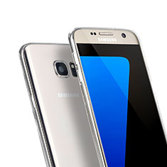Ultra-thin Transparent Gel Soft Case for Samsung Galaxy S7 G930F G930FD Clear