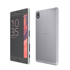 Ultra-thin Transparent Gel Soft Case for Sony Xperia X White
