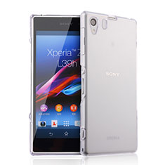 Ultra-thin Transparent Gel Soft Case for Sony Xperia Z1 L39h Clear