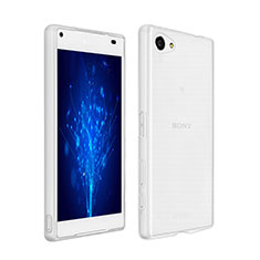 Ultra-thin Transparent Gel Soft Case for Sony Xperia Z5 Compact Clear