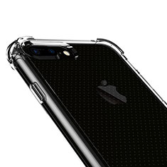 Ultra-thin Transparent Gel Soft Case T06 for Apple iPhone 7 Plus Clear