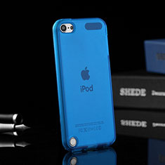 Ultra-thin Transparent Gel Soft Cover for Apple iPod Touch 5 Blue