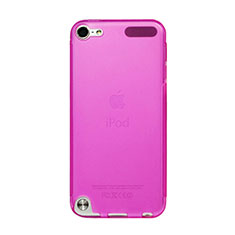 Ultra-thin Transparent Gel Soft Cover for Apple iPod Touch 5 Hot Pink