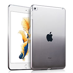 Ultra-thin Transparent Gradient Soft Cover for Apple iPad Air 2 Gray