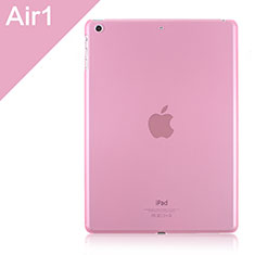Ultra-thin Transparent Matte Finish Case for Apple iPad Air Pink