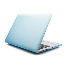 Ultra-thin Transparent Matte Finish Case for Apple MacBook Air 11 inch Blue