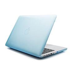 Ultra-thin Transparent Matte Finish Case for Apple MacBook Pro 13 inch Blue