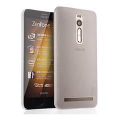 Ultra-thin Transparent Matte Finish Case for Asus Zenfone 2 ZE551ML ZE550ML White