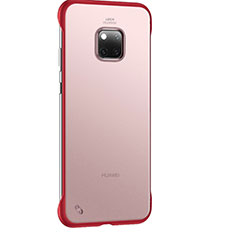Ultra-thin Transparent Matte Finish Case H01 for Huawei Mate 20 Pro Red