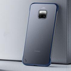 Ultra-thin Transparent Matte Finish Case U01 for Huawei Mate 20 Pro Blue